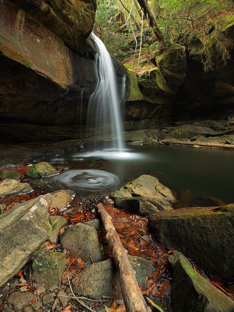 Dog Slaughter Falls, Daniel Boone National Forest, Kentucky