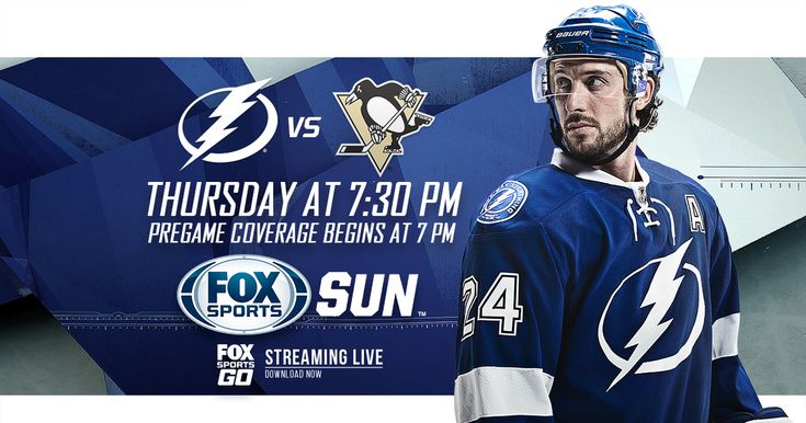 Catch Tonights Home Game As The Tampa Bay Lightning Take On The Pittsburgh Penguins