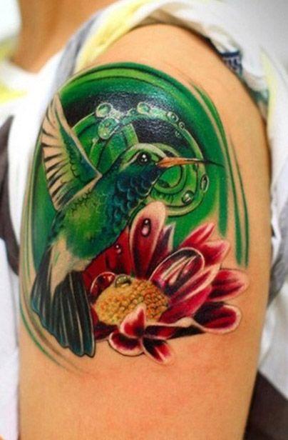 Tatuajes bonitos de colibries los mejores tatuajes de - Tattoo disenos a color ...