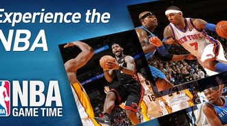 NBA Game Time 2012-13 allows you to follow the NBA world at any time on your phone - cool app!