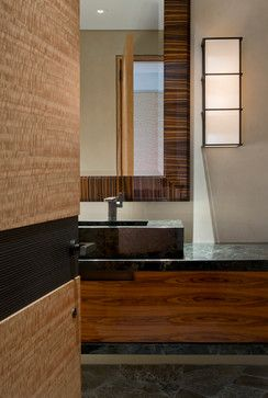 DMMA6 Lone Mountain Hillside - contemporary - Bathroom - Phoenix - David Michael Miller Associates