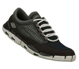 Skechers Men's Shoes - Skechers GObionic in SilverBlack