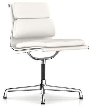 modern task chair. Herman Miller Eames Soft Pad Armless Side Chair - Modern Task Chairs SmartFurniture