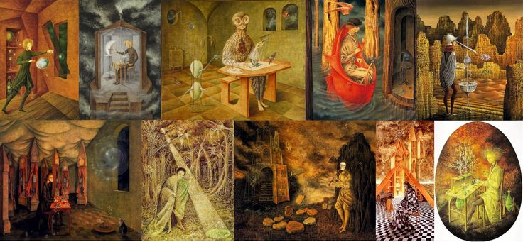 Alchemy & Science in Remedios Varo paintings