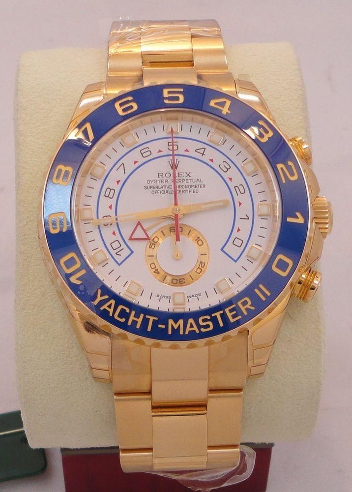 Rolex Yacht-Master II 18k Gold YACHTMASTER II