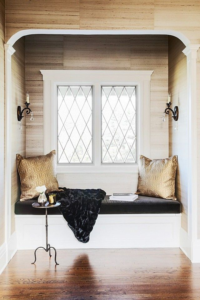 604 best images about window seats reading nooks on Window seat reading nook