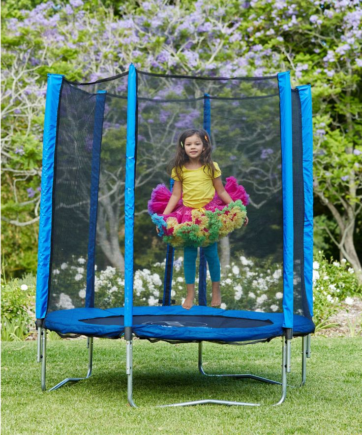 Plum 6ft Trampoline and Enclosure - Blue