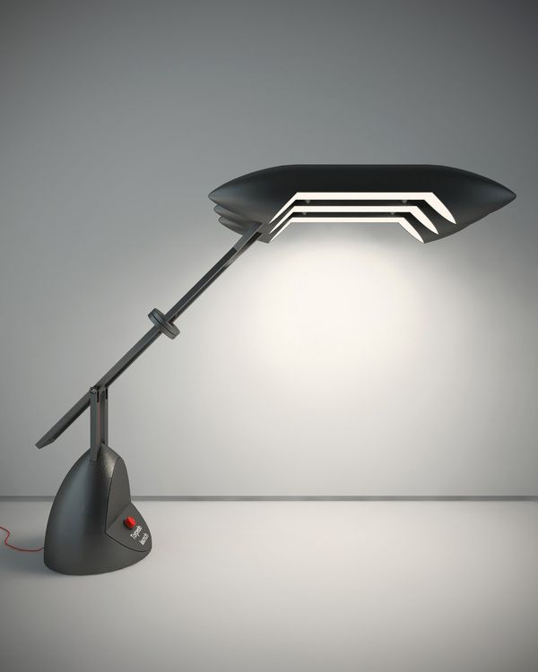 Torpedo a desk lamp designed by vladimir tomilov