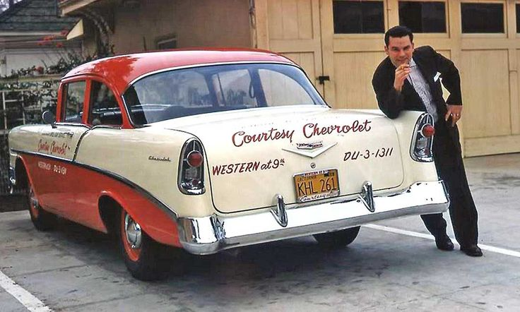 Courtesy Chevrolet mid-1950s Loaner Car