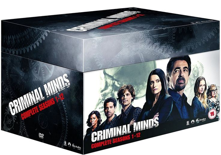 Criminal Minds - Season 1-12 (66 disc) (Import)