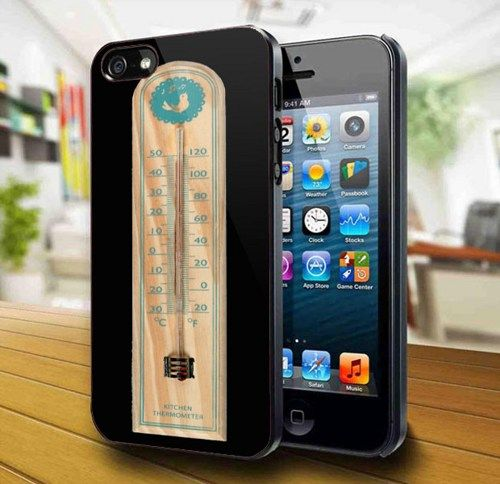 Retro Kitchen Thermometer iPhone 5 Case | kogadvertising - Accessories on ArtFire