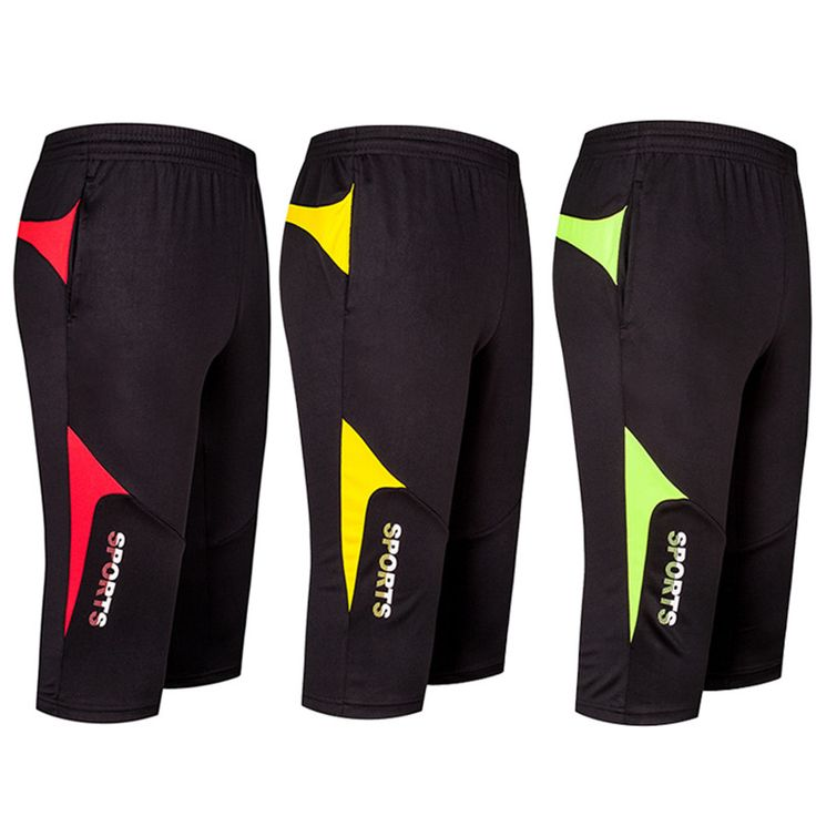 Cheap sport running, Buy Quality sport pant running directly from China running pants Suppliers: 2017 New Men Soccer Training Pants Joggings Football Cropped 3 4 Pant Jog Sports Running Fitness GYM Trousers Sweatpants legging