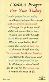 Friendship Prayer on Pinterest