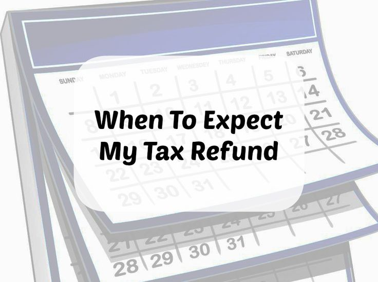 A chart that shows you when you can expect your tax refund in 2015. Also, a look at how to check for your refund on the IRS website.