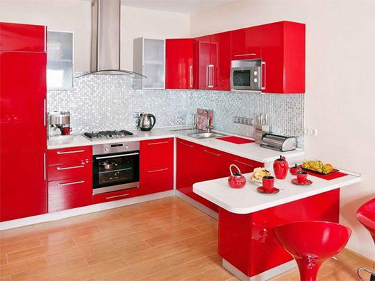 кухня кораллового цвета - Поиск в Google