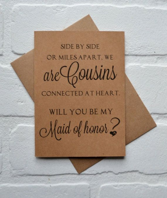 Will you be my MAID of honor SIDE by side by invitesbythisandthat
