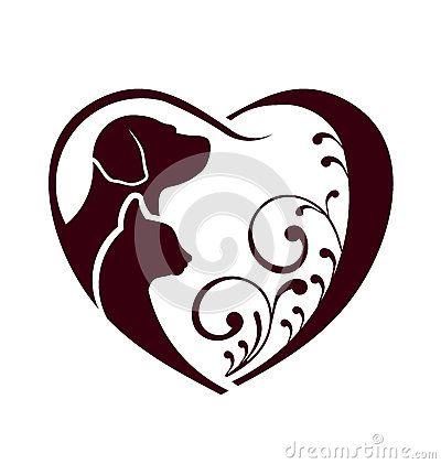 #adorable #animal #animal #animals #brand #breed #care #cat #cute #dog #farm #heart #illustration #kitten #love #medicine #pet  #puppy #shape #silhouette #socializing #stickers #swirl #swoosh #symbol #tag #tenderness #together #training #vector #veterinary #mascota #mascot #tattoo