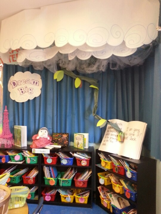 Jack And The Beanstalk Reading Corner Diy Adorable For