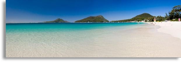 Beautiful Shoal Bay, Port Stephens, Australia