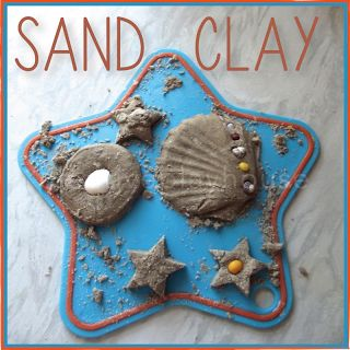 This is Sand Clay, which is an awesome air or oven drying modelling clay that looks and feels like sand