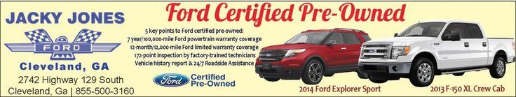 Ford Dealer Specializing In Truck Sales In Cleveland Georgia | Jacky Jones Ford | Jacky Jones Ford - Cleveland, GA #georgia #DahlonegaGA #shoplocal #localGA