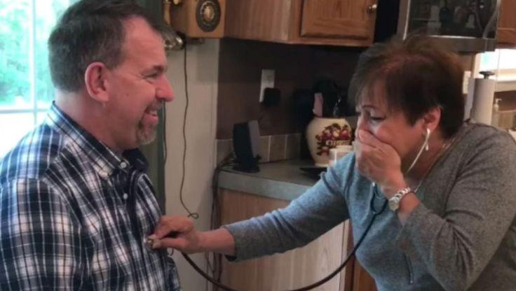 Emocionante: la reacción de una madre al escuchar el corazón de su hijo fallecido en otro hombre: La mujer decidió donar los órganos de su…