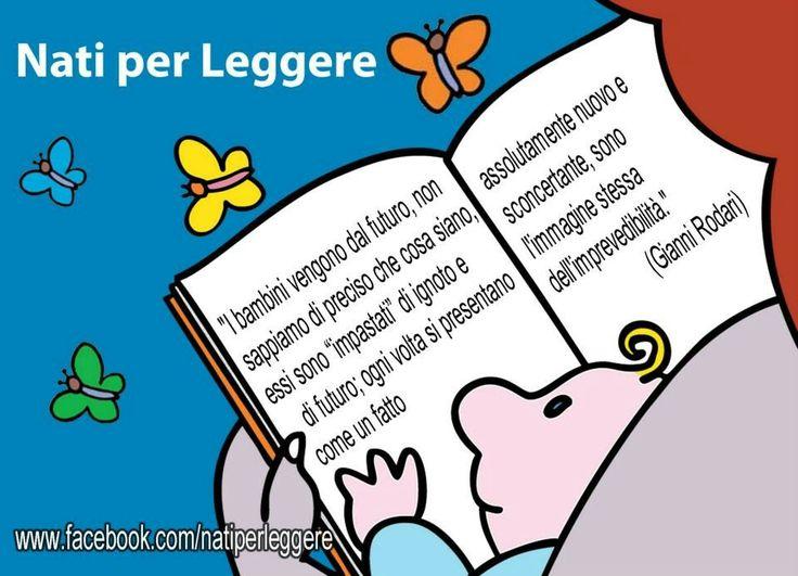 Nati per Leggere è il progetto di promozione della lettura ad alta voce ai bambini, nato dell'alleanza tra pediatri e bibliotecari. www.natiperleggere.it