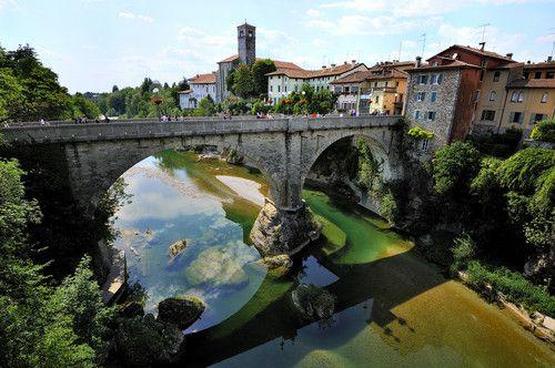 Cividale del Friuli.Il ponte del diavolo