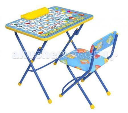Ника Набор мебели (стол-парта+мягкий стул)  — 1500р. -----------  Набор детской мебели Ника предназначен для детей возраста от 3 до 7 лет. Это безопасная, удобная мебель, которая компактно складывается и экономит пространство Вашей квартиры. Углы стола и стула мягко закруглены, основу мебели составляет металлический каркас, а форма и габариты соответствуют росту и весу ребенка.   С набором детской мебели Ника Ваш ребенок будет с удовольствием получать новые знания, тренировать полученные…