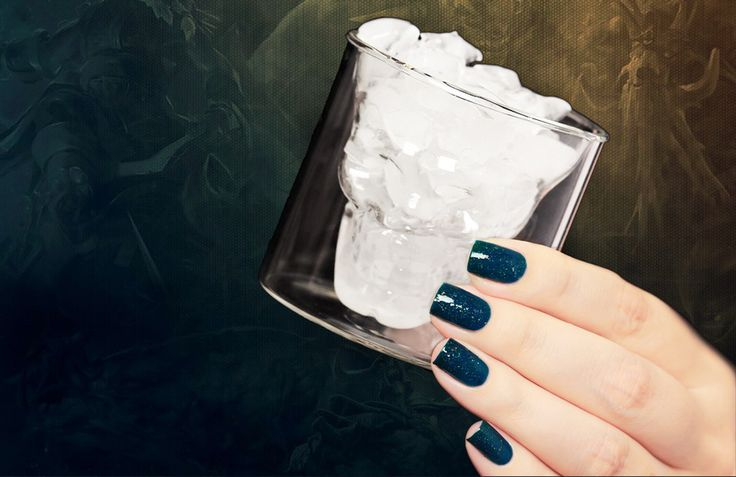 Femme Fatale You Only Live Ice... - Dope Nails exclusive