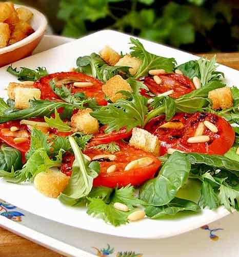 Roka Salatası Tarifi     www.afiyetle.com
