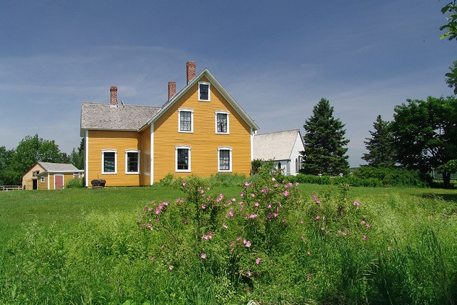 Perley House, Kings Landing Historic Village, New Brunswick Canada