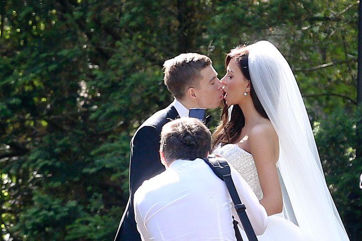 Jakub Kosiecki i Aleksandra Chlebowska  Jakub Kosiecki i Aleksandra Chlebowska pobrali się w Warszawie