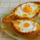 Time to make Adjaruli khacahpuri – A delicious bread boat with egg and cheese