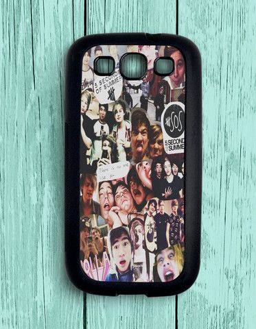 5 Second Of Summer Collage Art 5 SOS Music Samsung Galaxy S3 | Samsung S3 Case