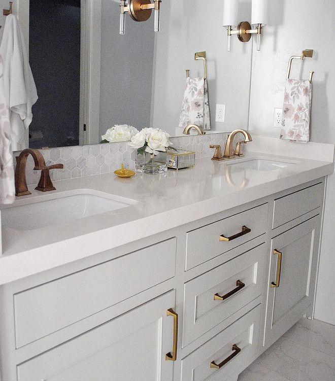 1000 Ideas About Grey White Bathrooms On Pinterest: 1000+ Ideas About Gray Vanity On Pinterest