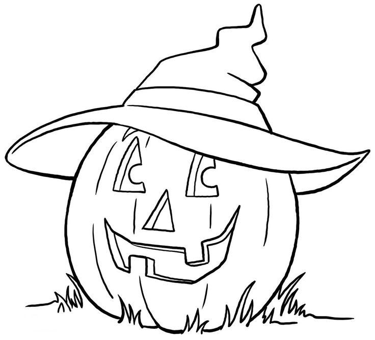 63 besten Halloween Coloring Pages Bilder auf Pinterest   Halloween ...