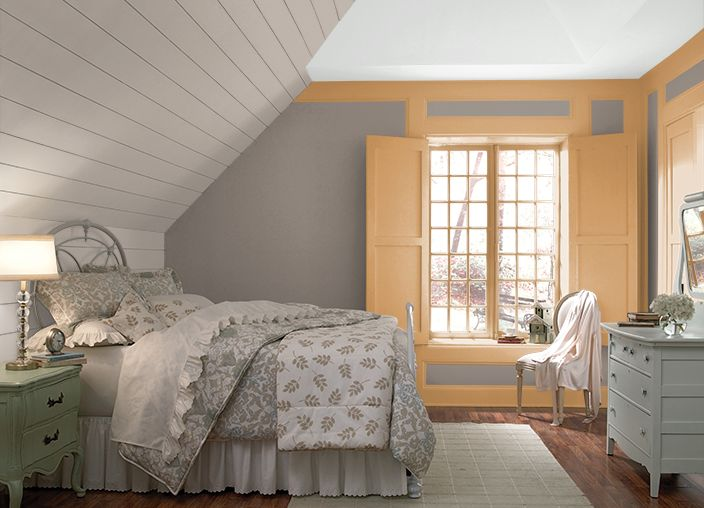 Nightingale Gray And Woodcraft The Coloursmart By Behr