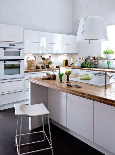 Ilot de cuisine : avantages et inconvénients dans une cuisine ouverte - CôtéMaison.fr