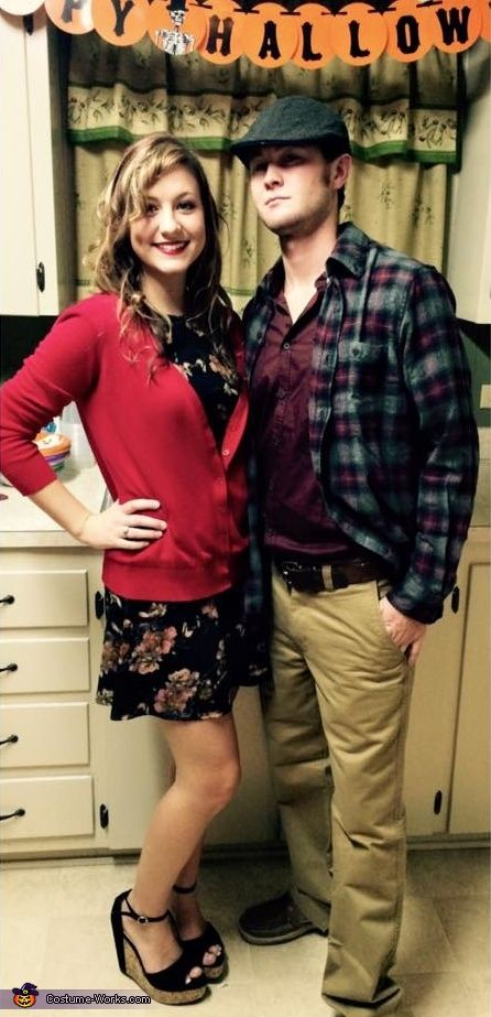 Allie & Noah from The Notebook - 2015 Halloween Costume Contest via @costume_works