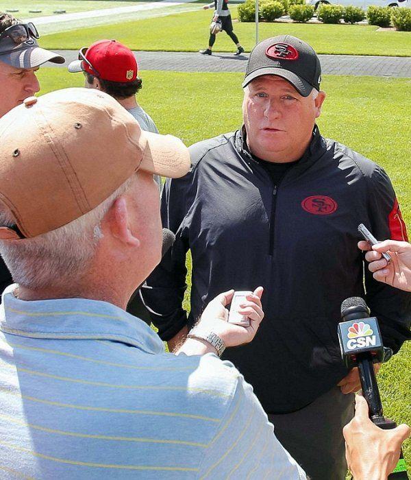 Transcript: Chip Kelly talks Colin Kaepernick, Jeff Driskel, QB reps for training camp