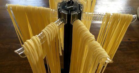 Spaghetti aus Semola di gran duro     400g Hartweizen, z. B. Granoro…