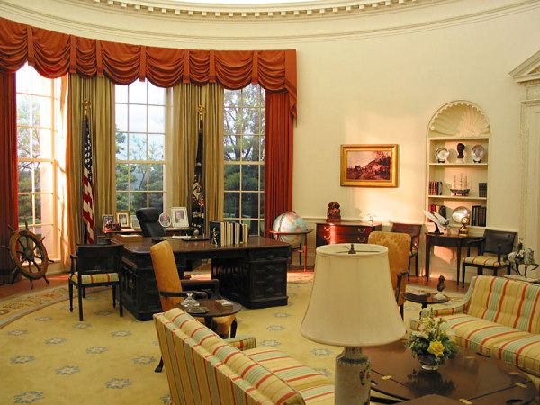 Ford Oval Office The White House Pinterest Oval