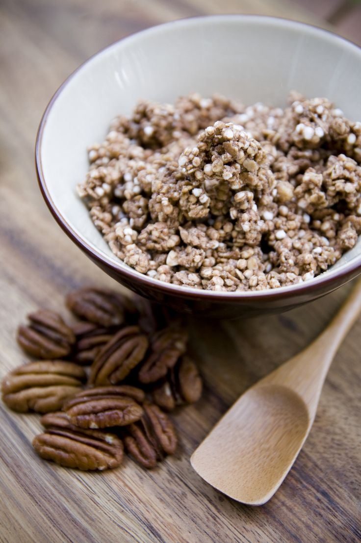Warm and Nutty Cinnamon Quinoa
