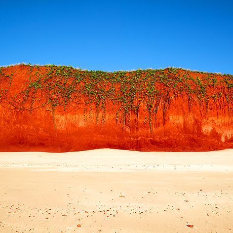 Red Cliff James Price Point by Christian Fletcher, composition, content, palette
