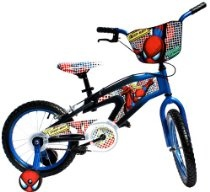 Spider-Man Bike (16-Inch Wheels)    Spider-Man Bike (16-Inch Wheels)  From Spider-Man  Price: $89.99 & eligible for FREE Super Saver Shipping on orders over $25. Details