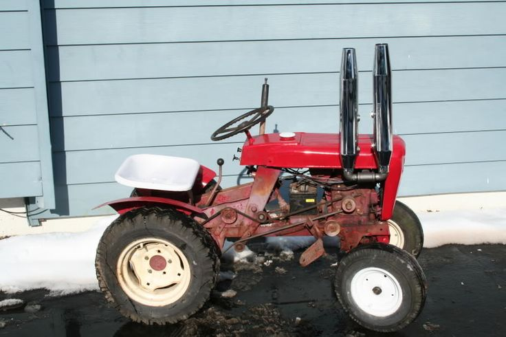 Lawn Tractor Dual Wheels : Best images about wheel horse on pinterest gardens