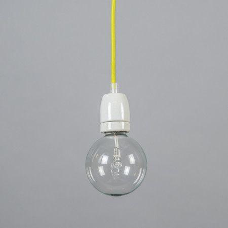 Lampa wisząca Cavo żółta