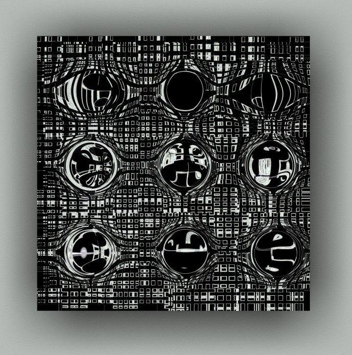 Deformation by Mihaela Stancu. http://artzila.com/collections/stancu-mihaela/products/deformation
