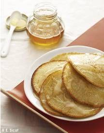 Pancakes à la farine de pois chiche pour 4 personnes - Recettes Elle à Table - Elle à Table